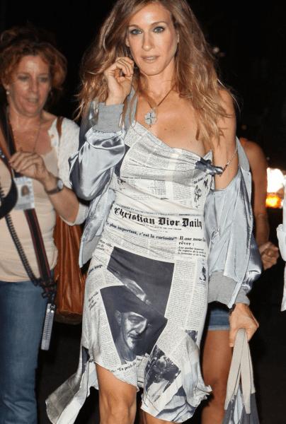 Единственное платье, которое Кэрри Брэдшоу надела дважды