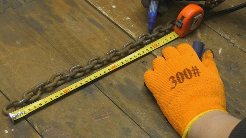 Теперь лопата не нужна. Полезная самоделка из ржавой цепи.