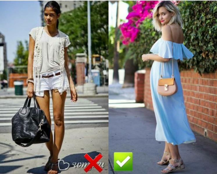 6 ошибок летних образов: осторожно, так одеваться не стоит