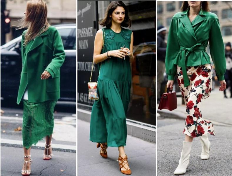 Как носить изумрудный цвет этим летом и в этой жизни