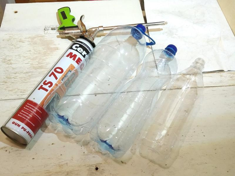 Термос из пары пластиковых бутылок. Работает!