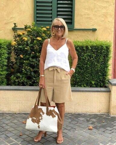 10 идей оставаться модной и стильной после 60+