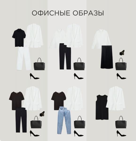 Базовый гардероб: 12 вещей, которые решат проблему, что надеть?