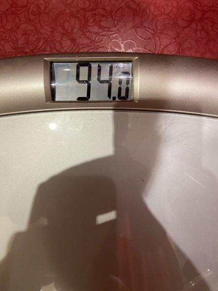 Худею со 107 кг. Результат за 7 неделю похудения