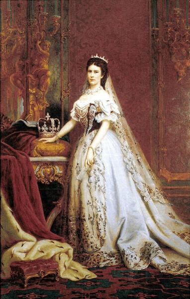 Красавица Сисси и коронационное платье венгерской королевы