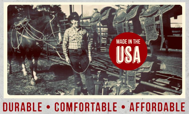 О джинсах сделанных в Америке.