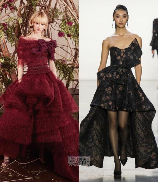 Тренды мировых подиумов: платья сезона осень-зима 2020