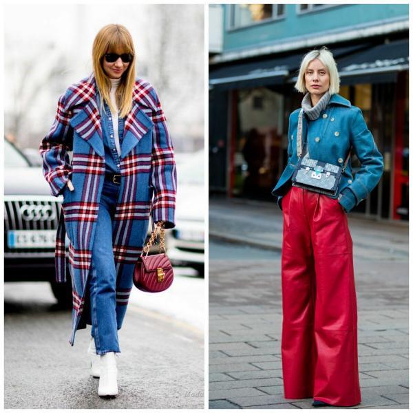 Красивые и модные сочетания цветов на осень 2020