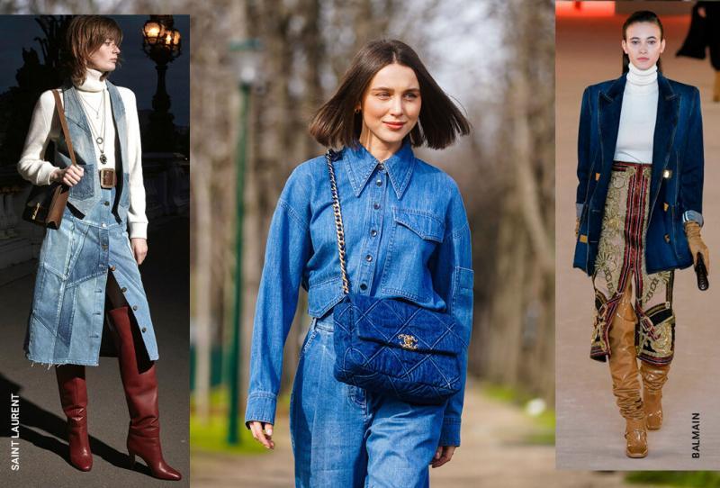 Не только джинсы: что купить из денима на эту осень