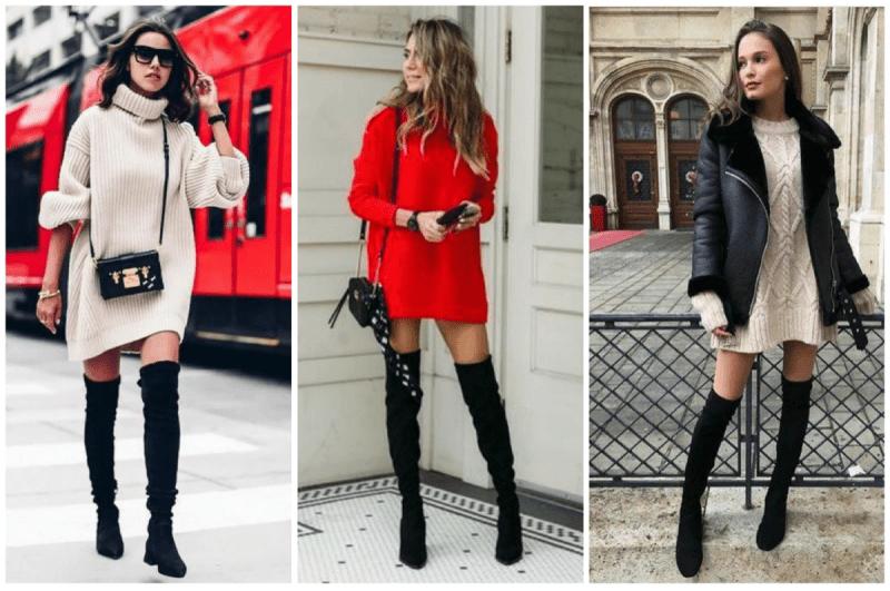 Сапоги-чулки: модно или не модно и с чем сочетать?