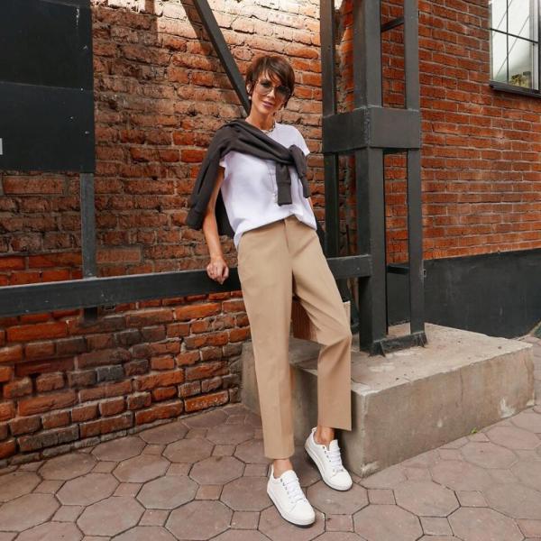 14 идей как носить брюки этой осенью