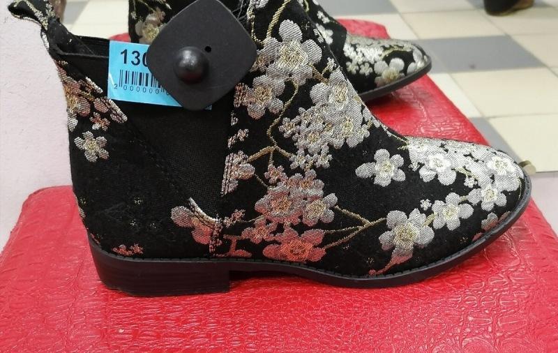 Мои находки в Секонд хенд: ботинки из жаккарда, сарафан с ручной строчкой  и пальто