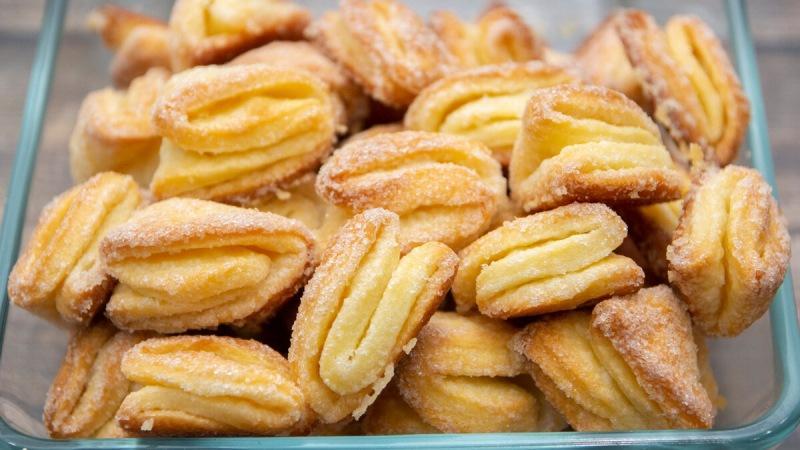 Творожное печенье с моим маленьким секретом. Хочется съесть всё сразу.