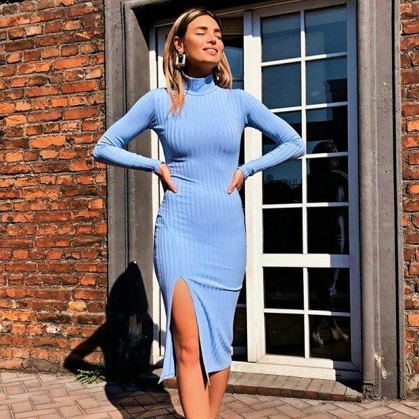 7 платьев на холода не дороже 1000р, которые смотрятся шикарно