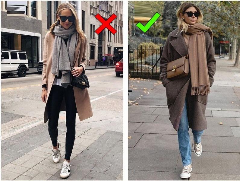 Так больше не носят: разбор ошибок в образах на осень/зиму