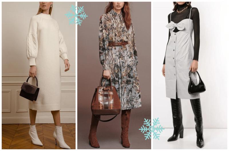 Тренды платьев на зиму: 7 эффектных моделей сезона 2020-21 ✔