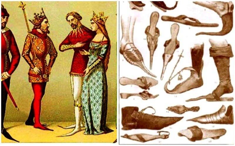 ТОП 9 странных модных трендов Классического Средневековья