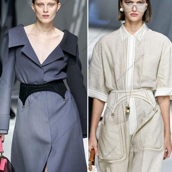 Тенденции моды весна-лето 2021 - FENDI