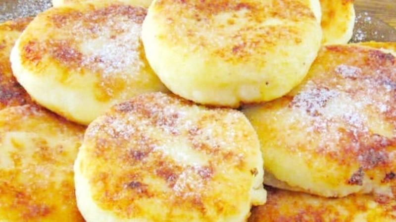 Простой рецепт ВОЗДУШНЫХ сырников