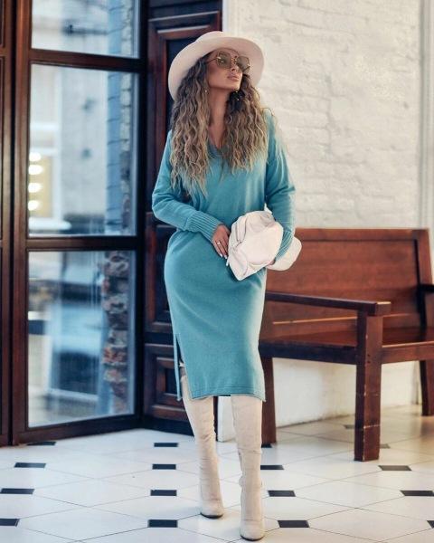 Трикотажные вещи весна 2021: женственные и модные образы (+20 фото)