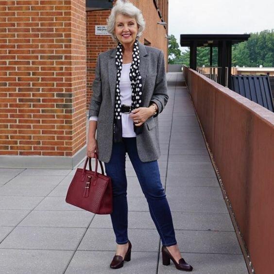 В 60+ выглядеть стильно и без особых затрат – запросто