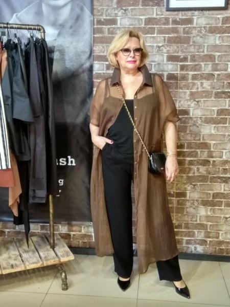Мода для полных женщин 60+. 13 образов на каждый день