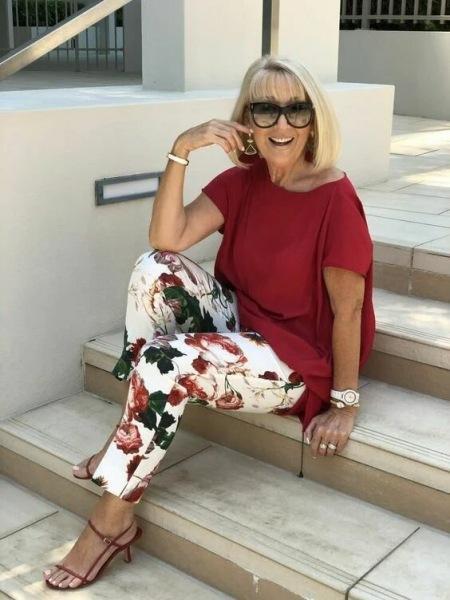 Яркие и оригинальные образы для женщин 60+. Смотрю и завидую