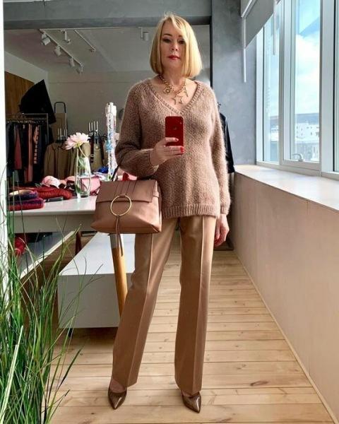 12 идей, как создать стильный образ для женщины 50+