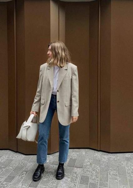 С чем носить лоферы этой осенью: Модные образы