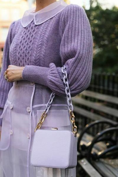 Модный фиолетовый - 15 идей для современных модниц
