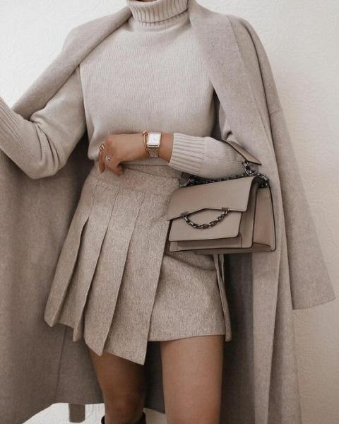 Какие юбки носить в офис этой осенью
